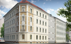 Antonienstr. 32-34 - Ansicht Straße