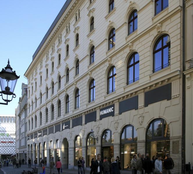 Gewerbe Hotel De Pologne Hainstraße