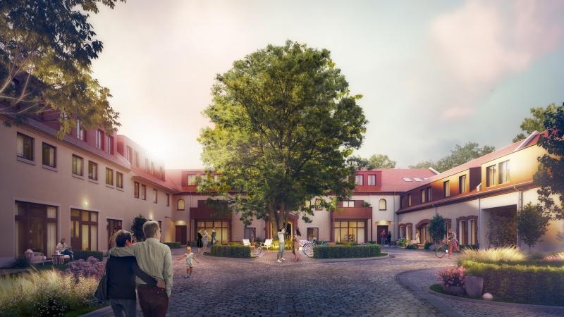 STADTGUT Seehausen - Ansicht Hof