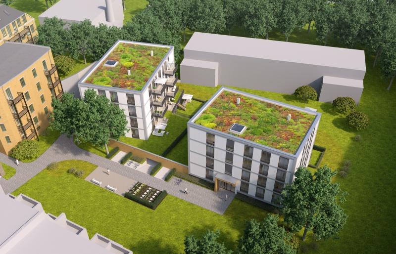 Thalysia Gärten Ansicht außen Vogelperspektive